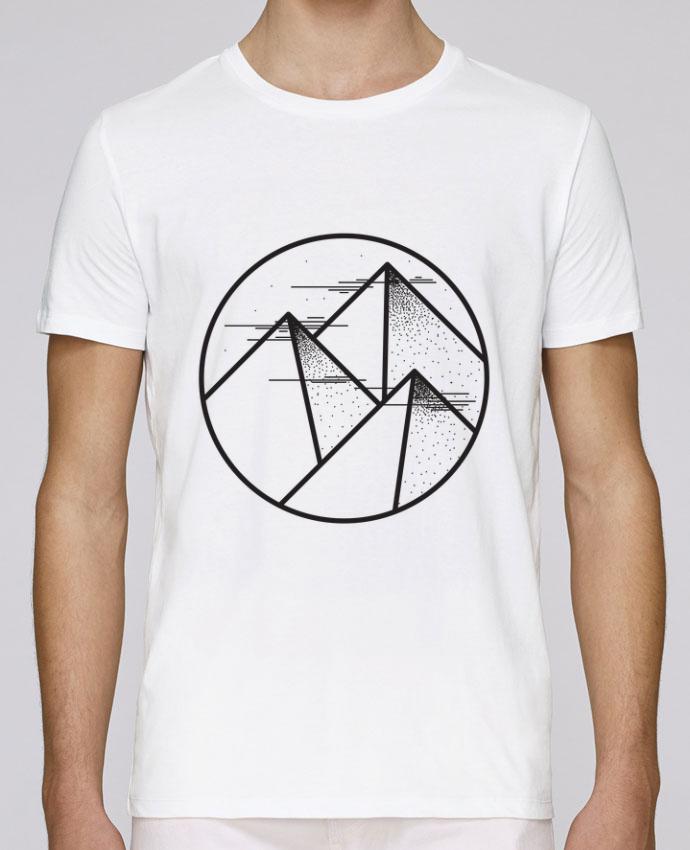 T-Shirt Col Rond Stanley Leads montagne - graphique par /wait-design