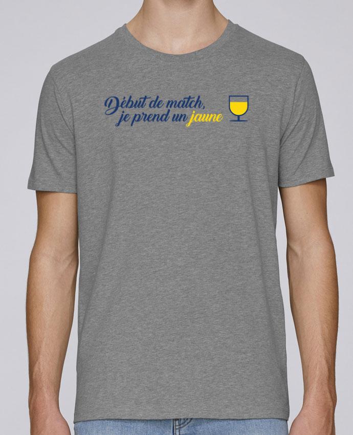 T-Shirt Col Rond Stanley Leads Début de match, je prend un jaune par tunetoo