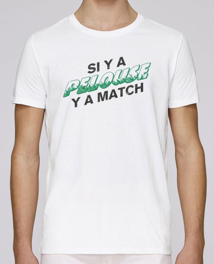 T-Shirt Col Rond Stanley Leads Si y a pelouse y a match par tunetoo