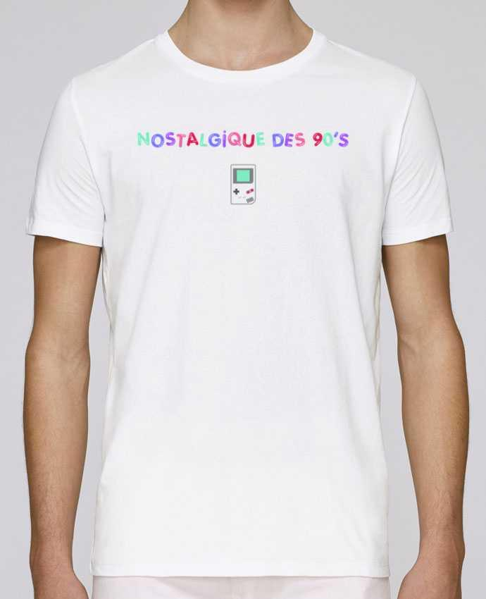 T-Shirt Col Rond Stanley Leads Nostalgique 90s Gameboy par tunetoo