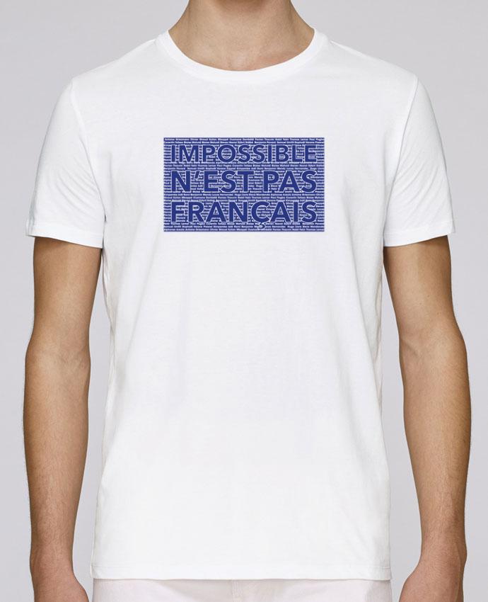 T-Shirt Col Rond Stanley Leads Impossible n'est pas français par tunetoo