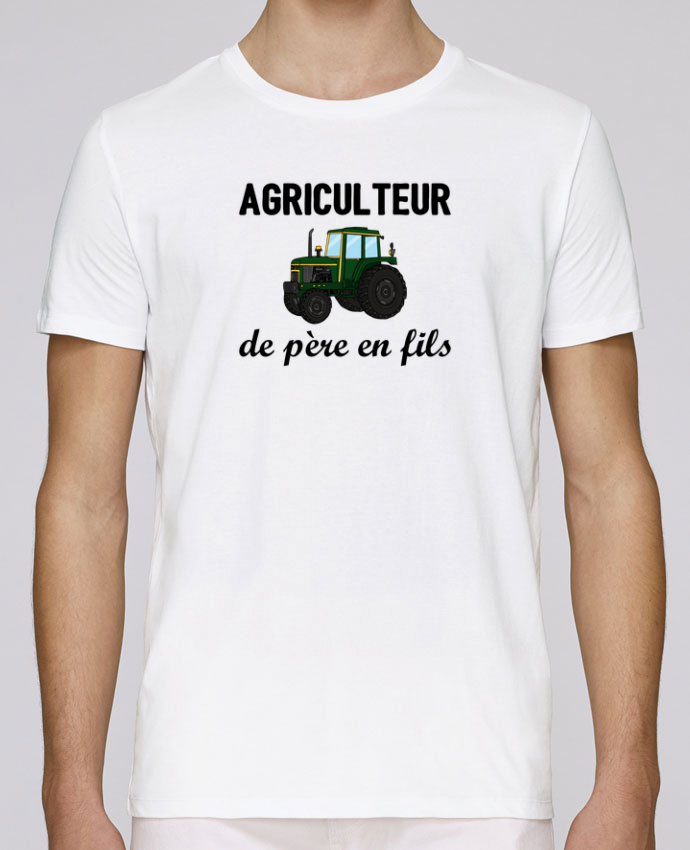 T-Shirt Col Rond Stanley Leads Agriculteur de père en fils par tunetoo