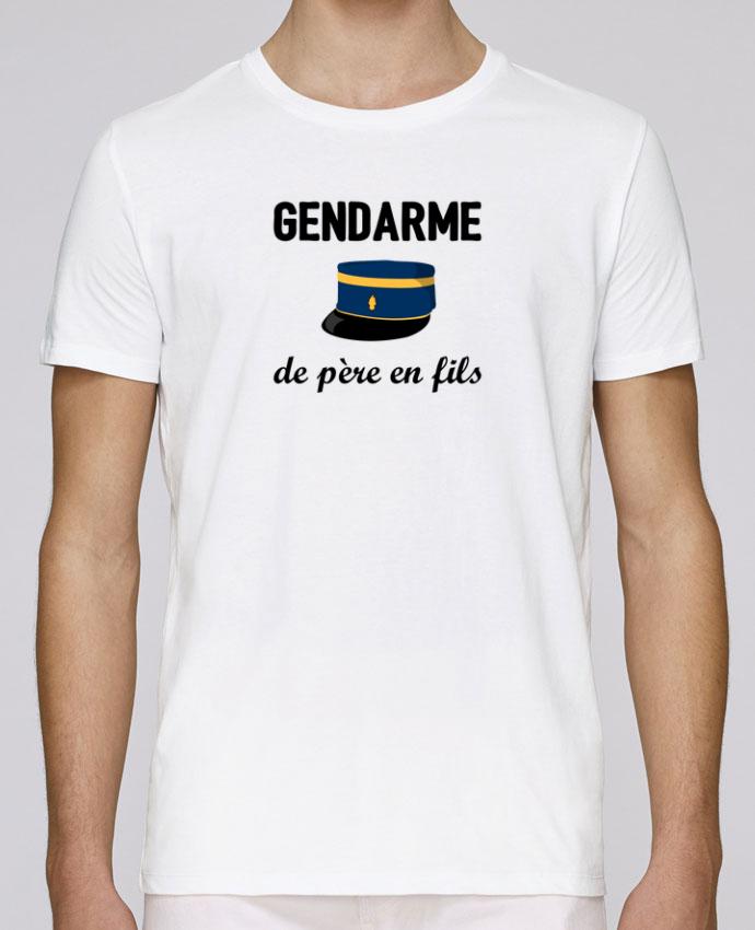 T-Shirt Col Rond Stanley Leads Gendarme de père en fils par tunetoo