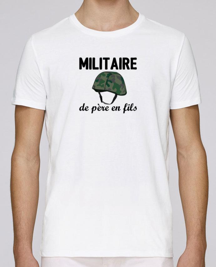 T-Shirt Col Rond Stanley Leads Militaire de père en fils par tunetoo