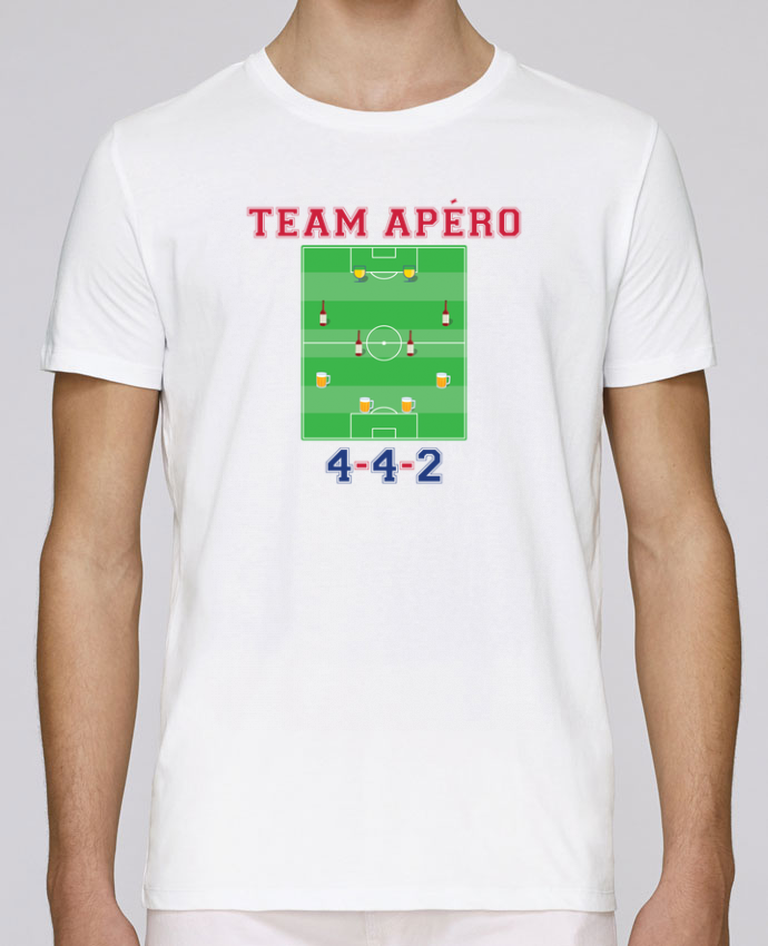 T-Shirt Col Rond Stanley Leads Team apéro football par tunetoo