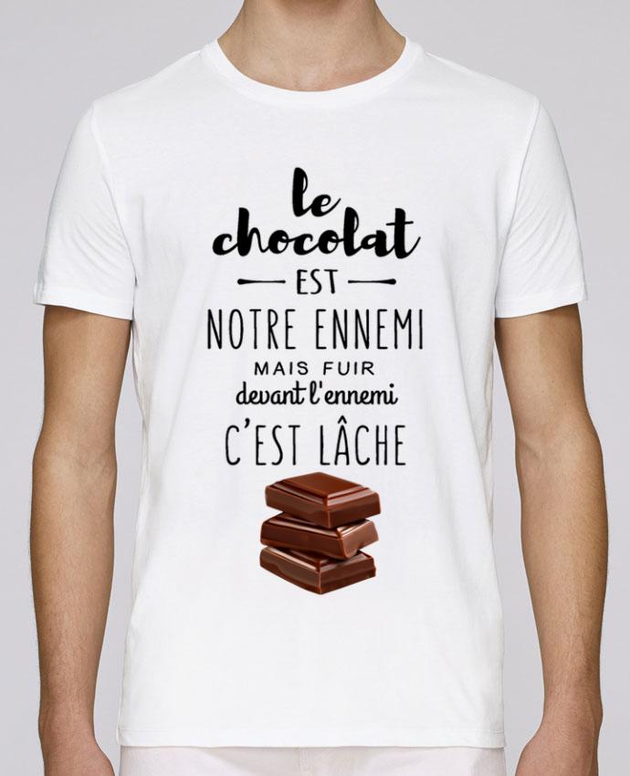 T-Shirt Col Rond Stanley Leads chocolat par DesignMe