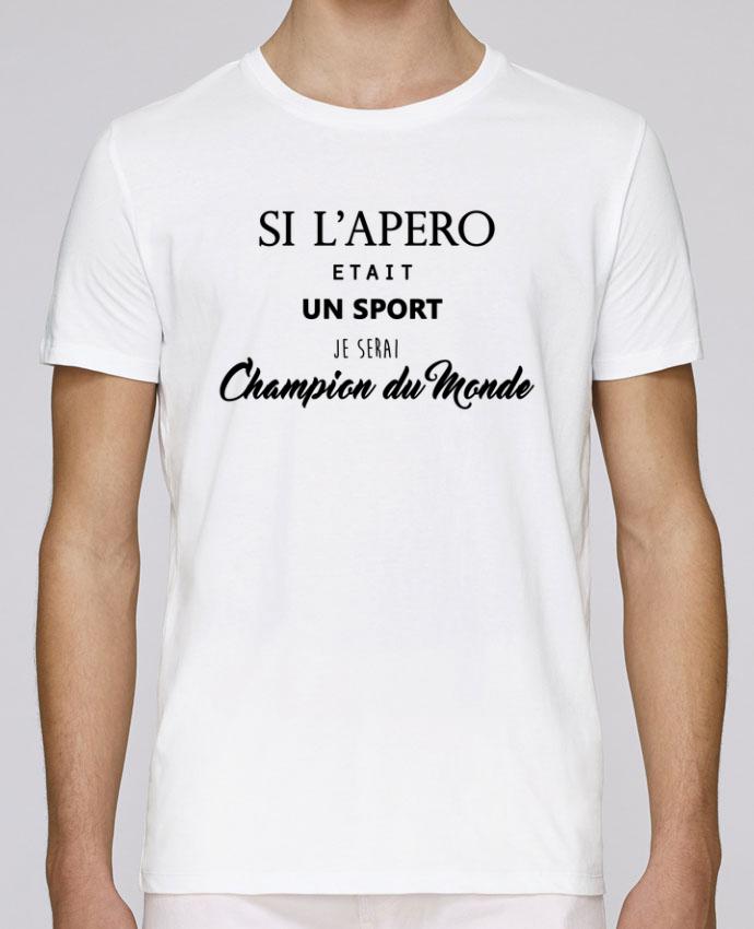 T-Shirt Col Rond Stanley Leads apero foot par DesignMe