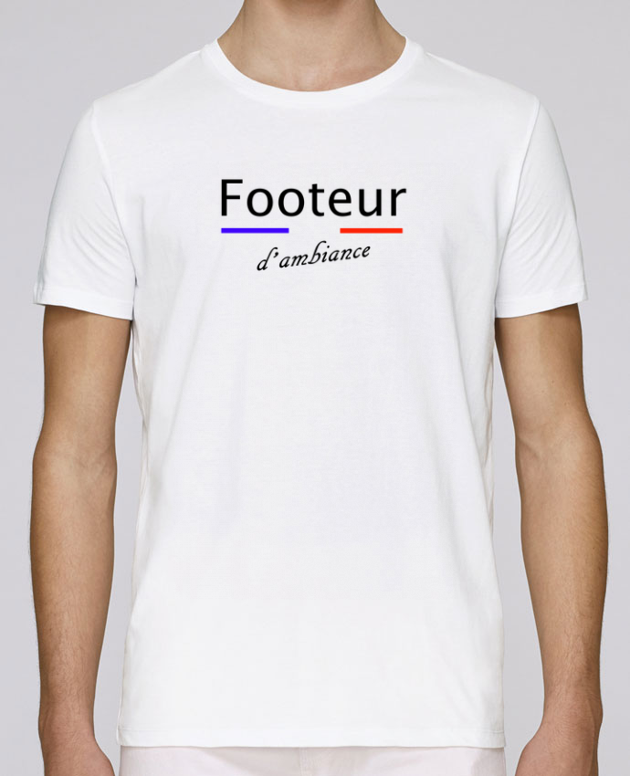 T-Shirt Col Rond Stanley Leads FOOTEUR D'AMBIANCE par Tee Smiles