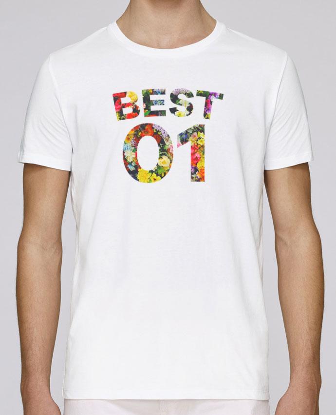 T-Shirt Col Rond Stanley Leads BEST FRIENDS FLOWER 1 par tunetoo