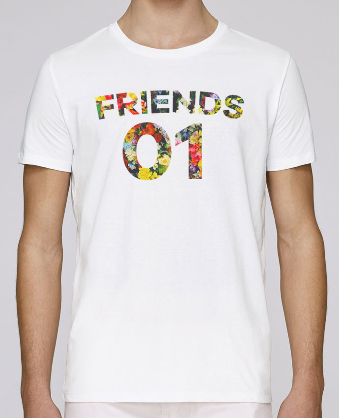 T-Shirt Col Rond Stanley Leads BEST FRIENDS FLOWER 2 par tunetoo