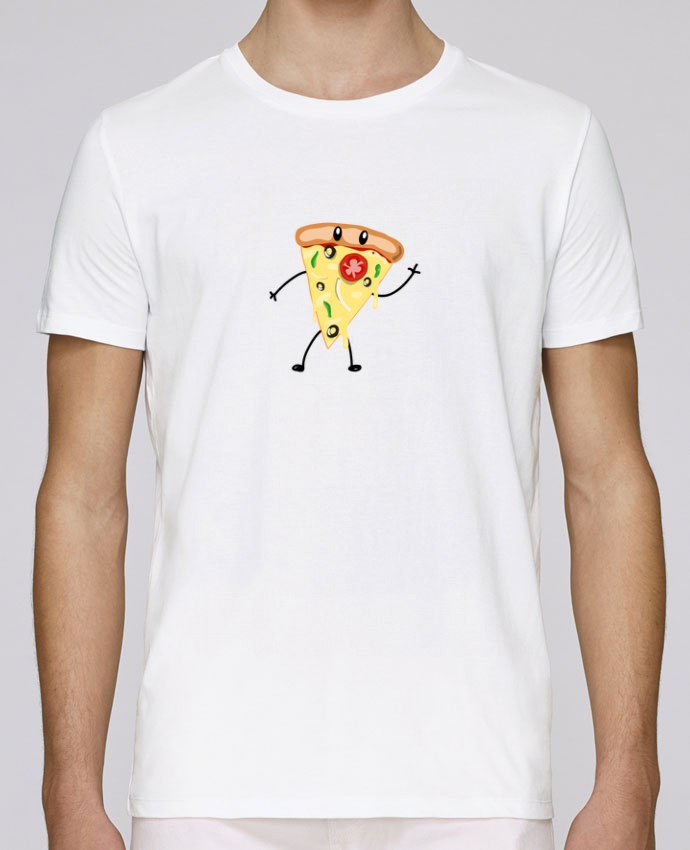 T-Shirt Col Rond Stanley Leads Pizza guy par tunetoo