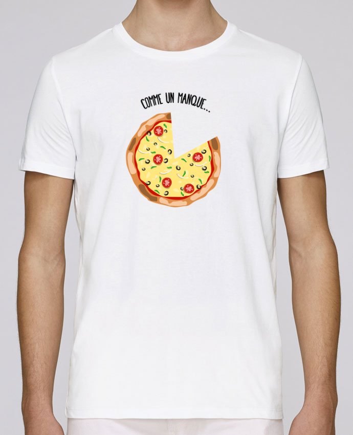 T-Shirt Col Rond Stanley Leads Pizza duo par tunetoo