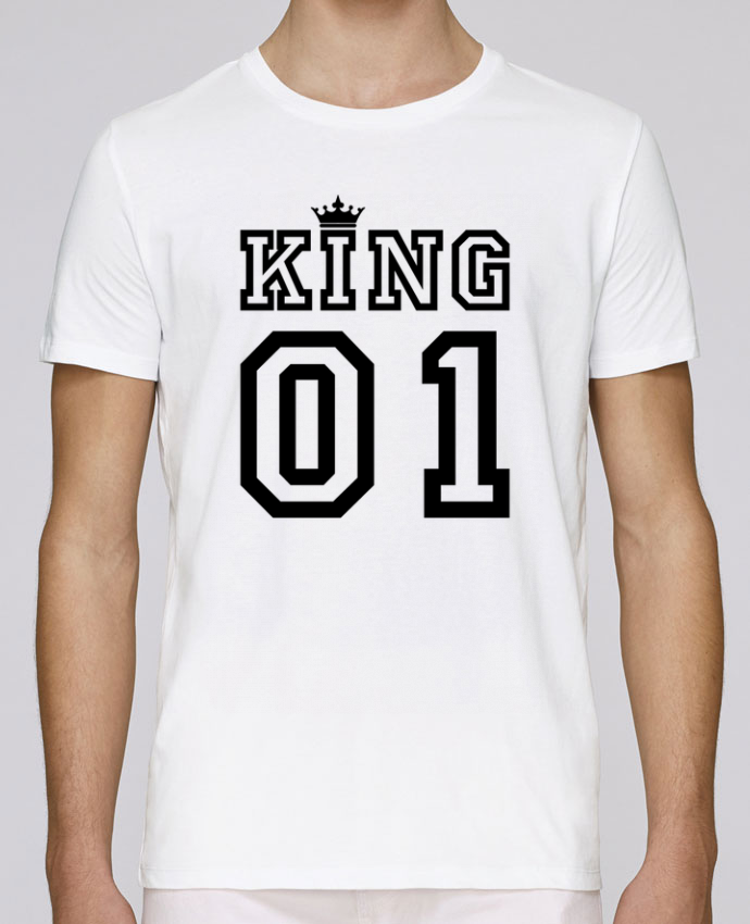 T-Shirt Col Rond Stanley Leads King 01 par tunetoo