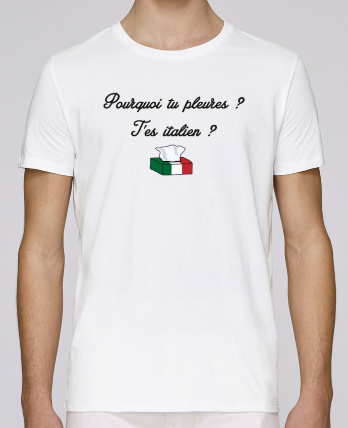 T-Shirt Col Rond Stanley Leads Italie Coupe du monde Troll par tunetoo