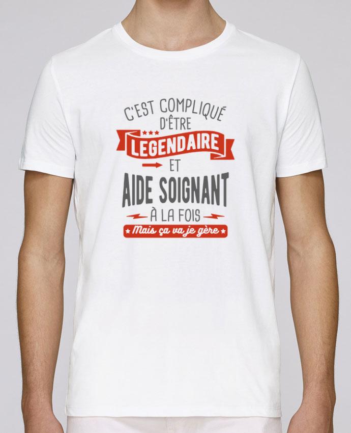 T-Shirt Col Rond Stanley Leads Légendaire et aide soignant par
