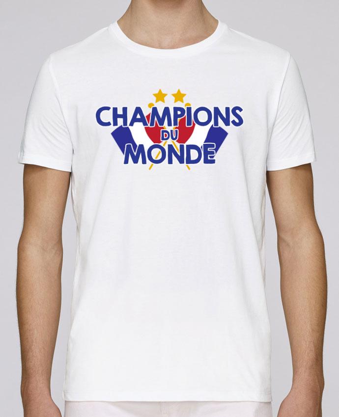 T-Shirt Col Rond Stanley Leads Champions du monde par tunetoo