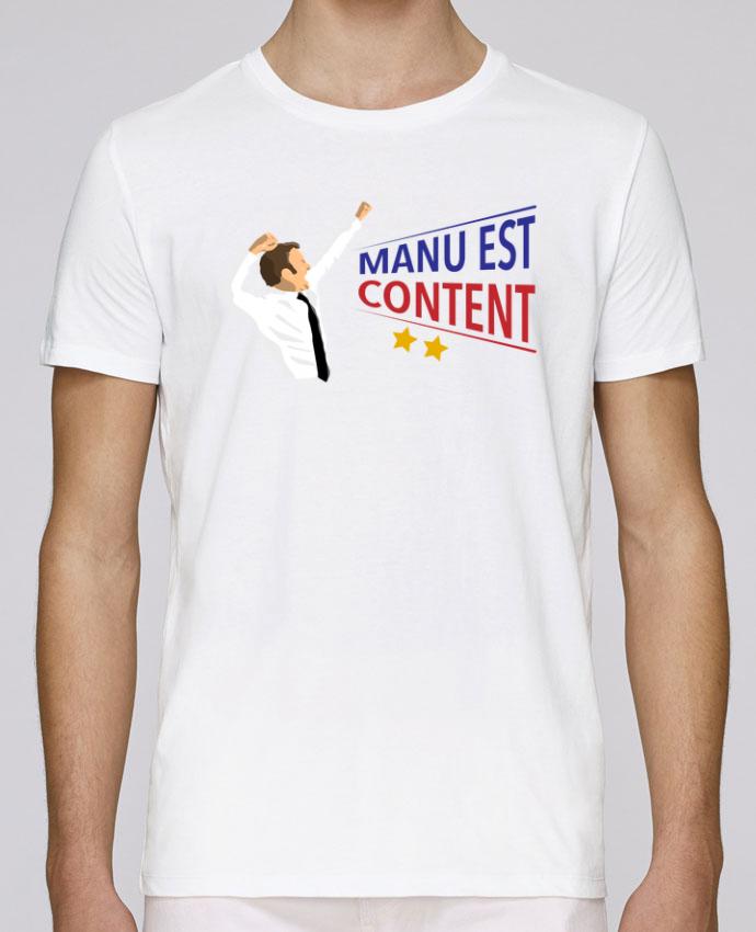 T-Shirt Col Rond Stanley Leads Célébration Macron par tunetoo