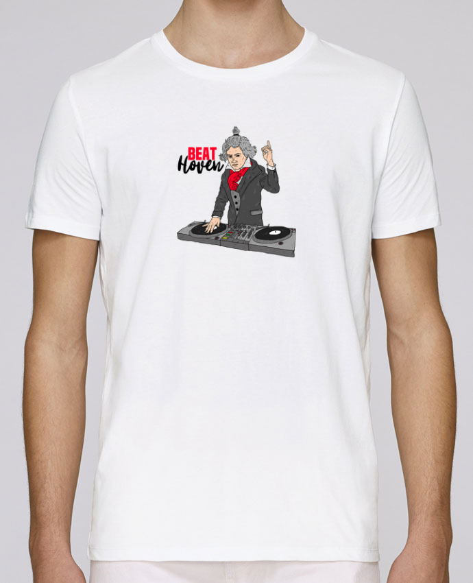 T-Shirt Col Rond Stanley Leads Beat Hoven Beethoven par Nick cocozza