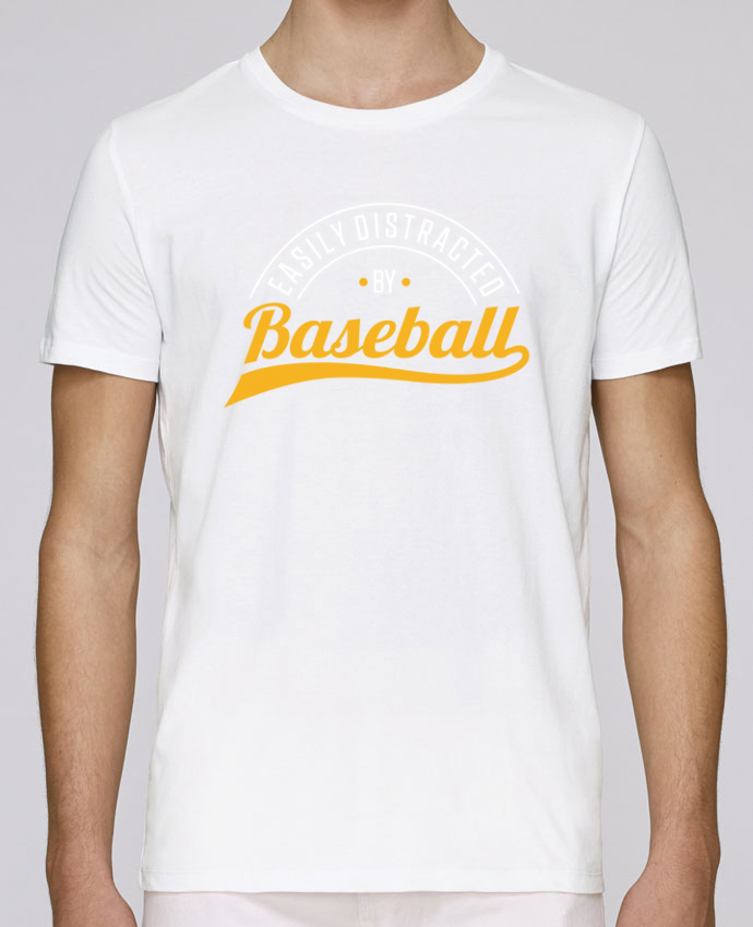 T-Shirt Col Rond Stanley Leads Distracted by Baseball par Original t-shirt