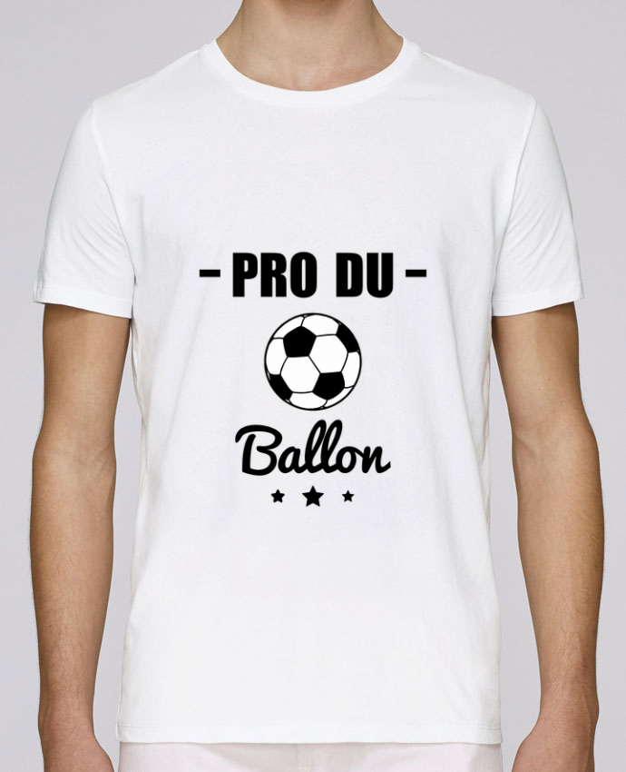 T-Shirt Col Rond Stanley Leads Pro du ballon de football par Benichan