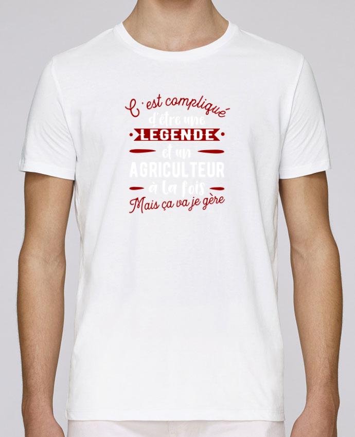 T-Shirt Col Rond Stanley Leads Légende et agriculteur par Original t-shirt