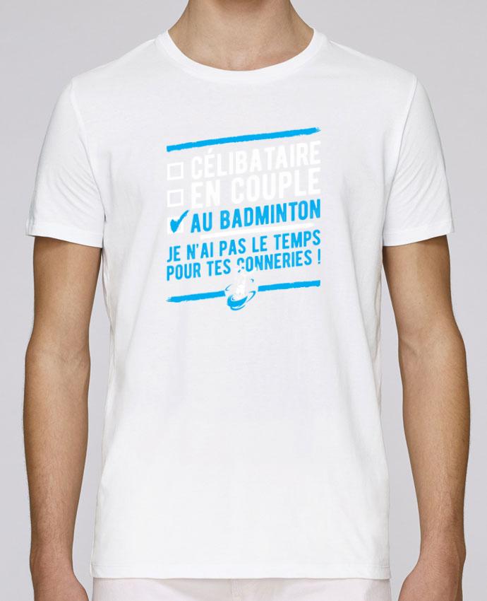T-Shirt Col Rond Stanley Leads Accro badminton par Original t-shirt