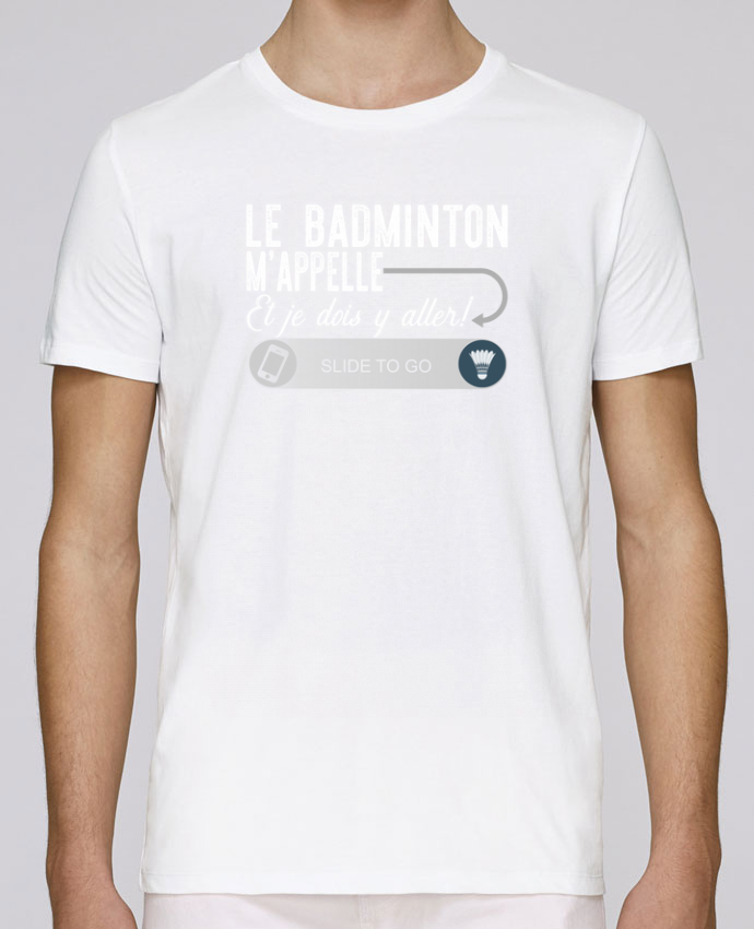 T-Shirt Col Rond Stanley Leads Badminton m