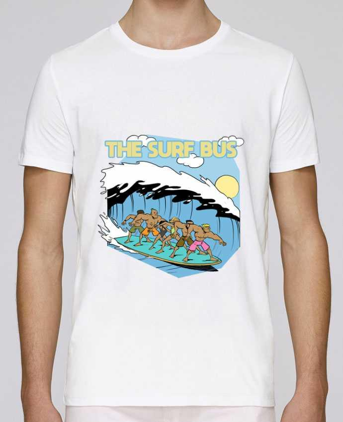 T-Shirt Col Rond Stanley Leads The Surf Bus par Tomi Ax - tomiax.fr