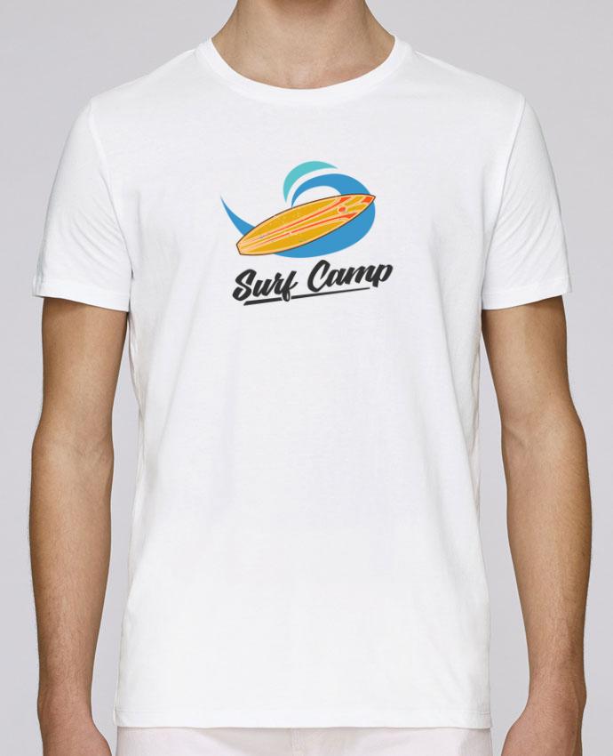 T-Shirt Col Rond Stanley Leads Summer Surf Camp par tunetoo