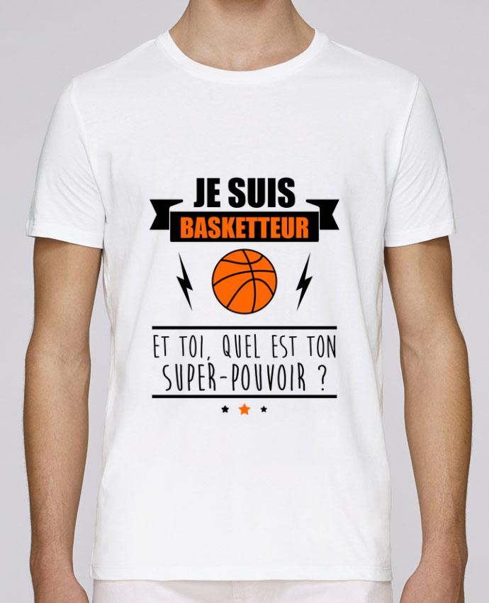 T-Shirt Col Rond Stanley Leads Je suis basketteur et toi, quel est ton super-pouvoir ? par Benichan
