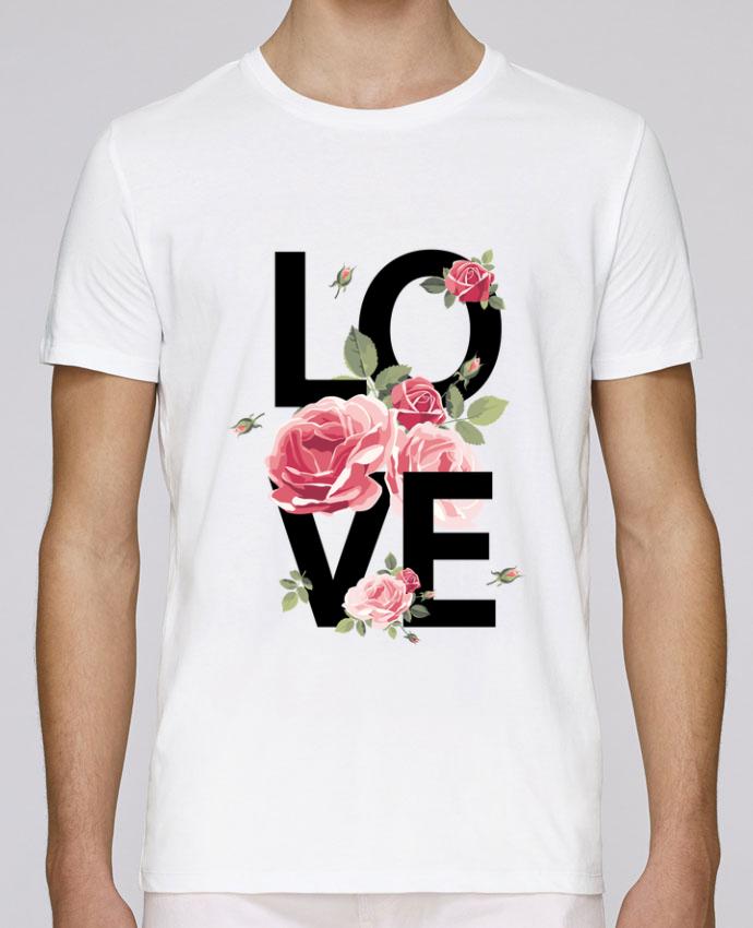 T-Shirt Col Rond Stanley Leads Love par Jacflow