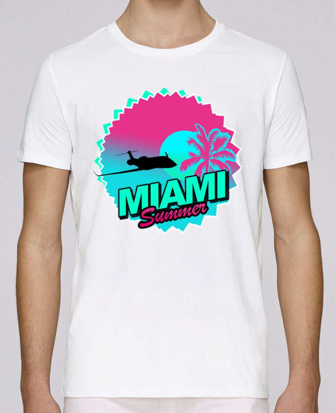 T-Shirt Col Rond Stanley Leads Miami summer par Revealyou