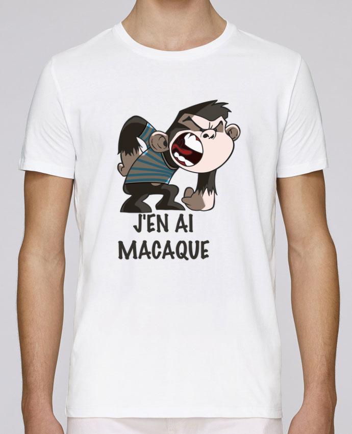 T-Shirt Col Rond Stanley Leads J'en ai macaque ! par Le Cartooniste
