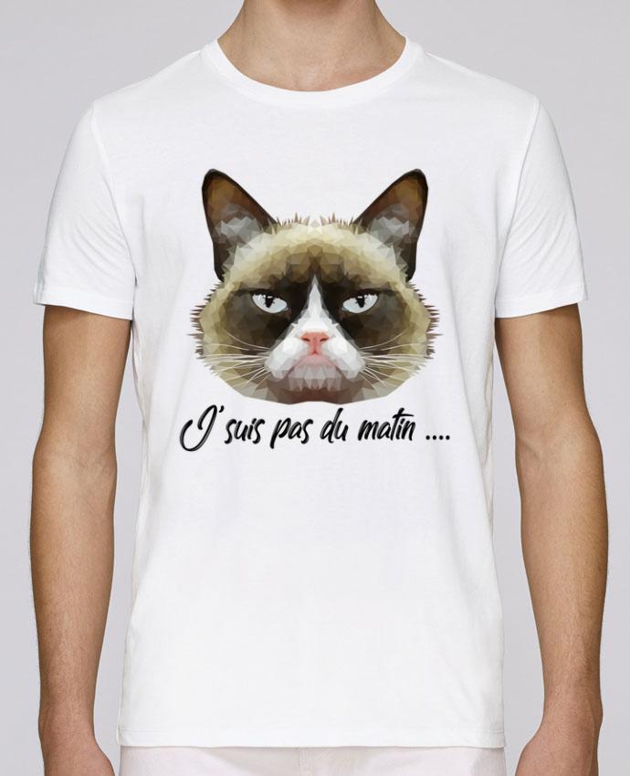 T-Shirt Col Rond Stanley Leads je suis pas du matin par DesignMe