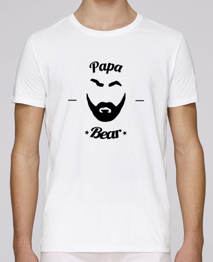 T-Shirt Col Rond Stanley Leads Papa Bear par Ju Lie