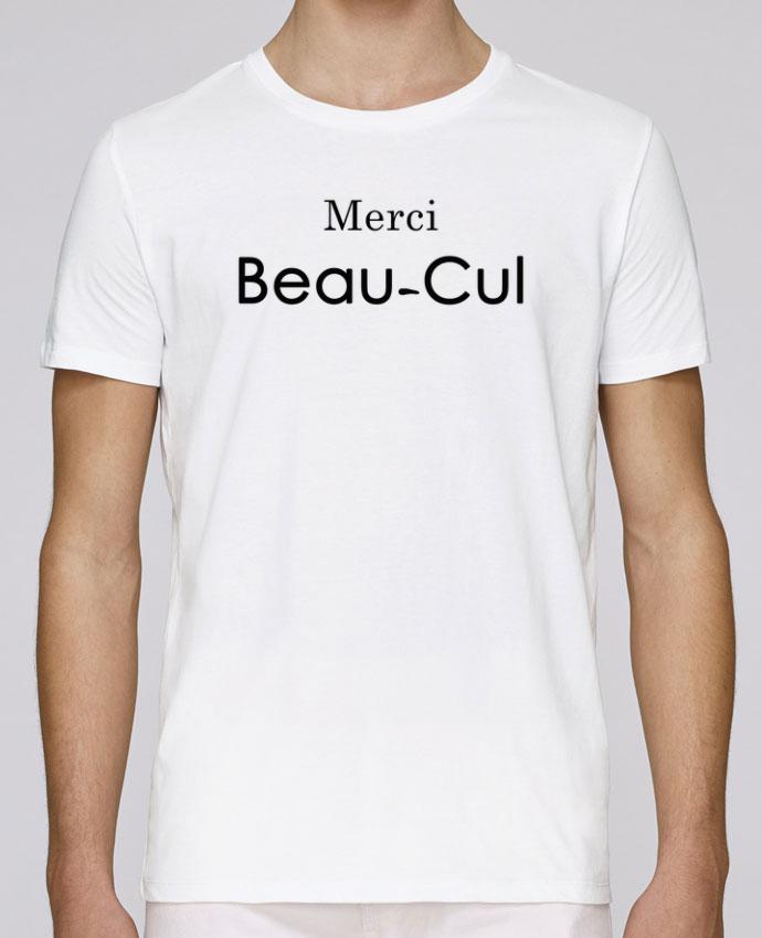 T-Shirt Col Rond Stanley Leads Merci Beau-cul par tunetoo