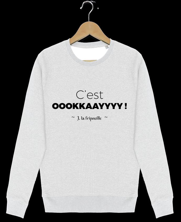 Sweat-shirt Stanley stella modèle seeks oookkaayyyy ! par tunetoo