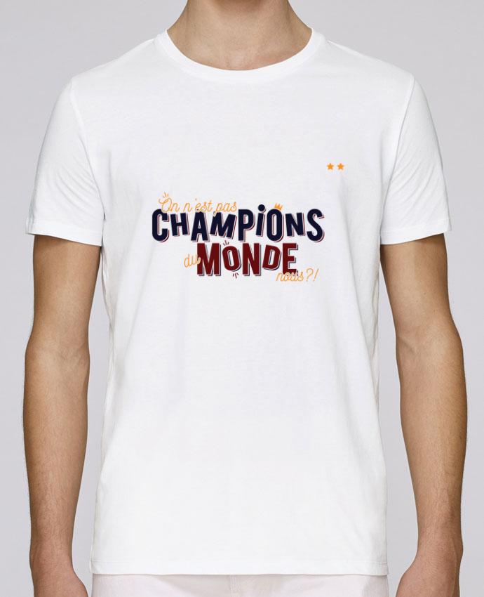 T-Shirt Col Rond Stanley Leads CHAMPIONS DU MONDE par PTIT MYTHO