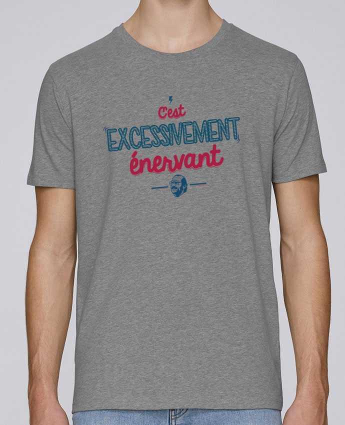 T-Shirt Col Rond Stanley Leads C'EST  EXCESSIVEMENT ENERVANT par PTIT MYTHO