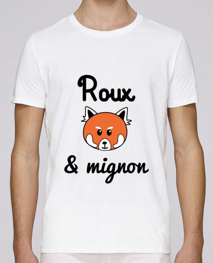 T-Shirt Col Rond Stanley Leads Roux & Mignon, Panda roux par Benichan