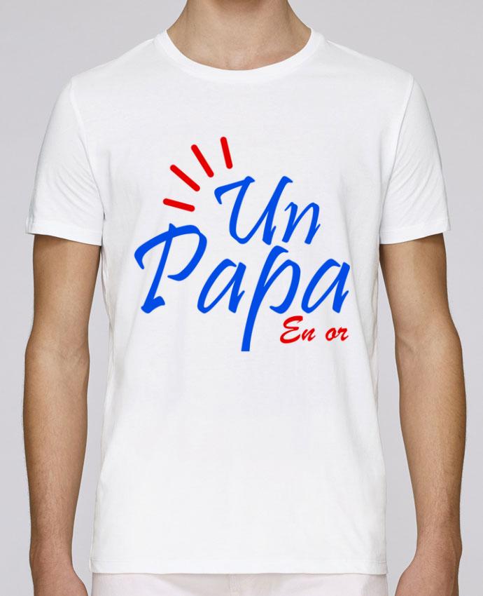 T-Shirt Col Rond Stanley Leads un papa en or par Milie