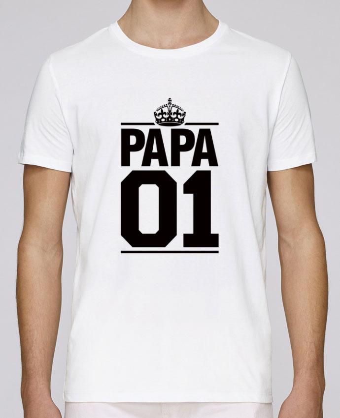 T-Shirt Col Rond Stanley Leads Papa 01 par Freeyourshirt.com