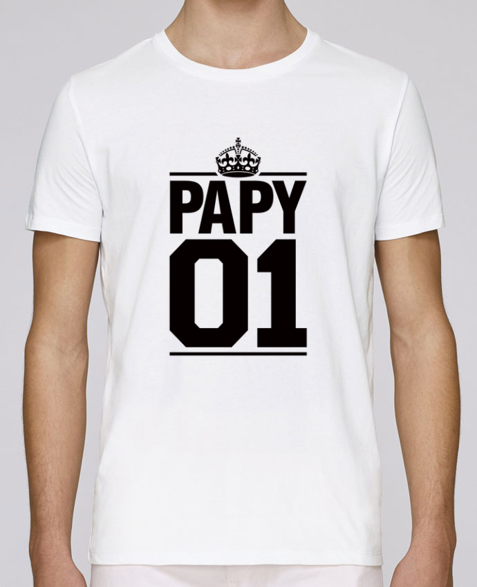 T-Shirt Col Rond Stanley Leads Papy 01 par Freeyourshirt.com
