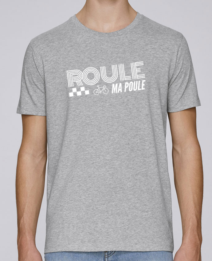 t shirt col rond stanley leads roule ma poule blanc tunetoo. Black Bedroom Furniture Sets. Home Design Ideas