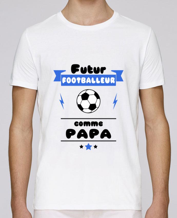 T-Shirt Col Rond Stanley Leads Futur footballeur comme papa par Benichan