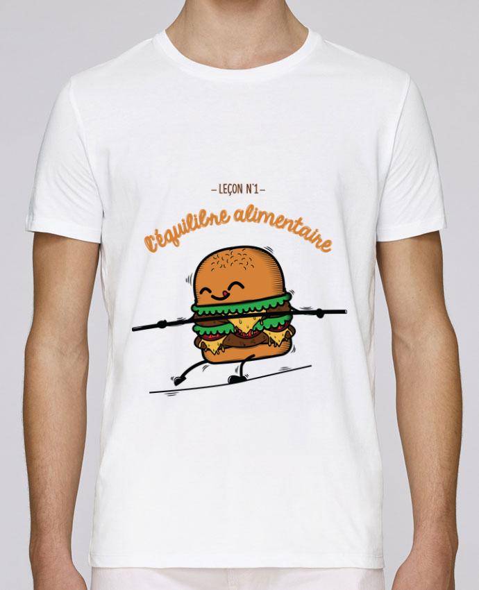 T-Shirt Col Rond Stanley Leads Equilibre alimentaire par PTIT MYTHO