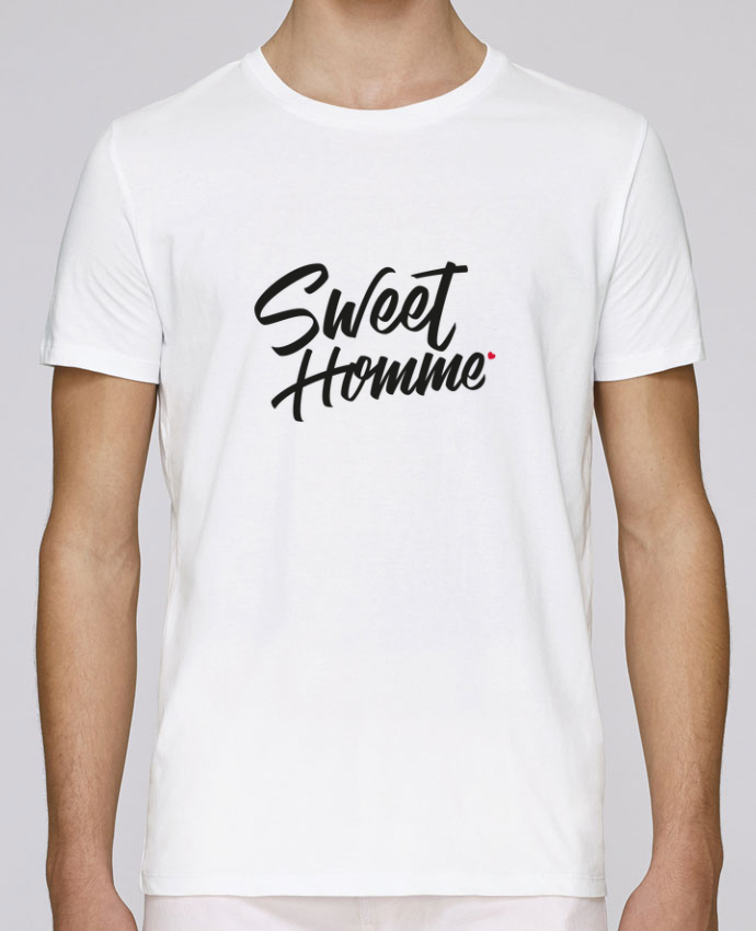 T-Shirt Col Rond Stanley Leads Sweet Homme par Nana
