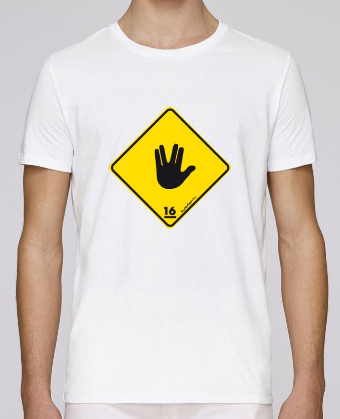 T-Shirt Col Rond Stanley Leads Startrek Main Signe par Zorglub
