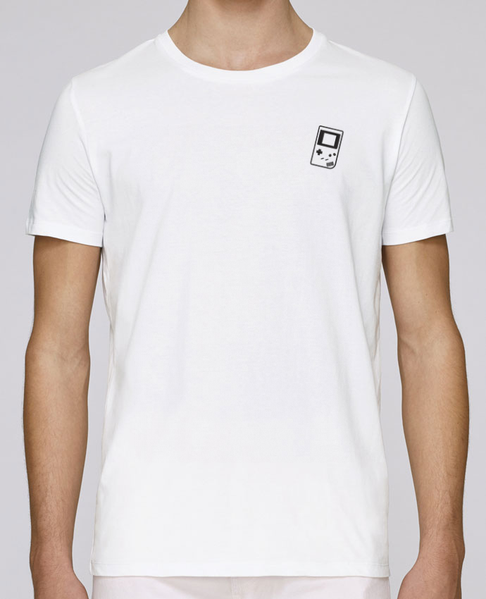 T-Shirt Col Rond Stanley Leads brodé Gameboy brodé par tunetoo
