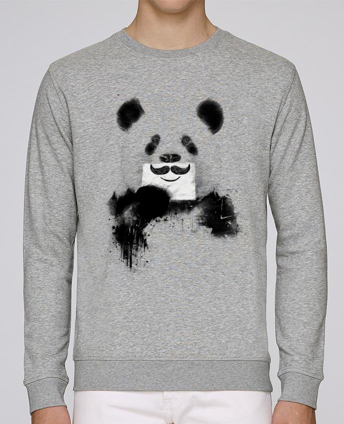 Sweat Col rond Unisexe Stanley Stella Rise Funny Panda Balàzs Solti par Balàzs Solti